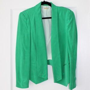 Rebecca Minkoff Bright Green Fitted Blazer